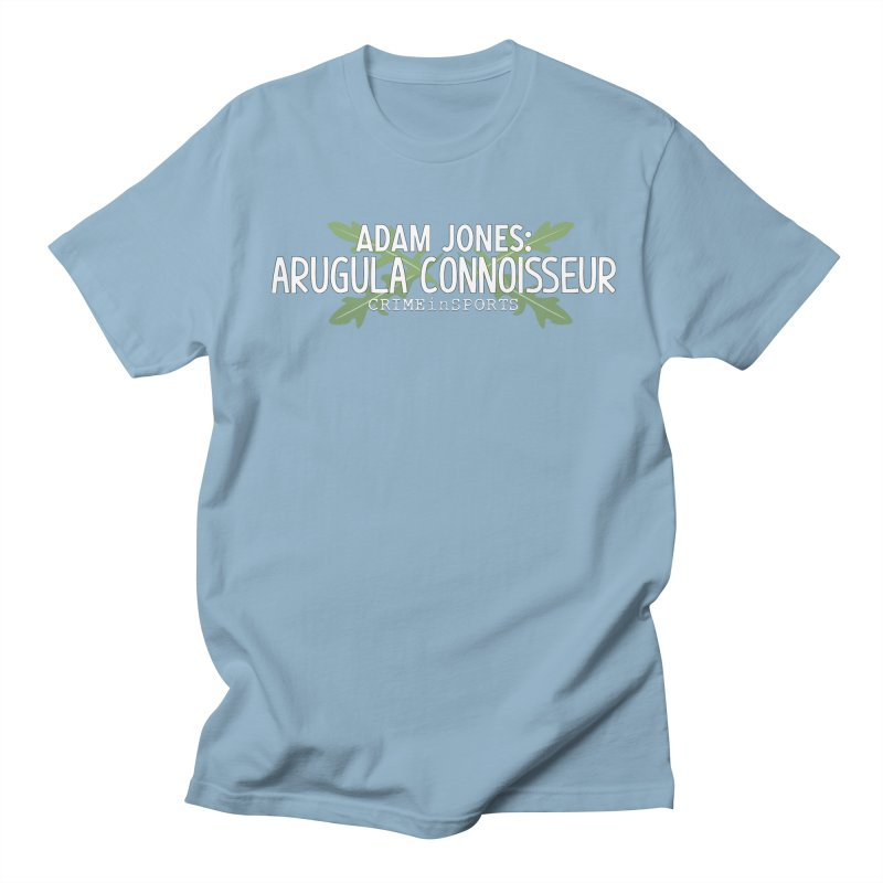 Arugula Connoisseur Women's Regular Unisex T-Shirt by True Crime Comedy Team Shop