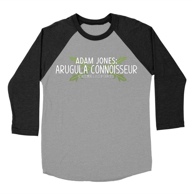 Arugula Connoisseur Women's Baseball Triblend Longsleeve T-Shirt by True Crime Comedy Team Shop