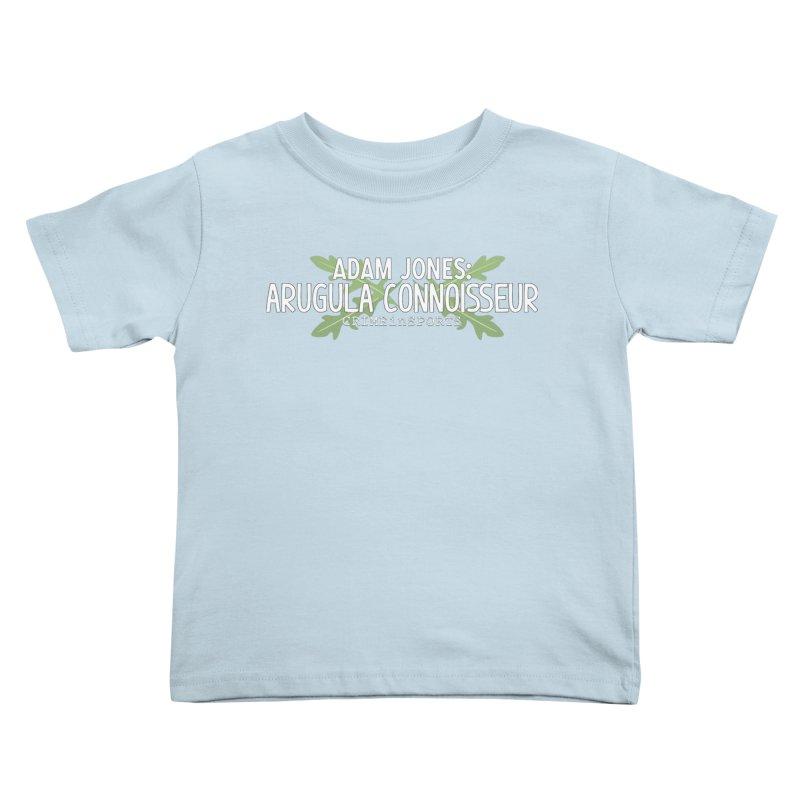 Arugula Connoisseur Kids Toddler T-Shirt by True Crime Comedy Team Shop