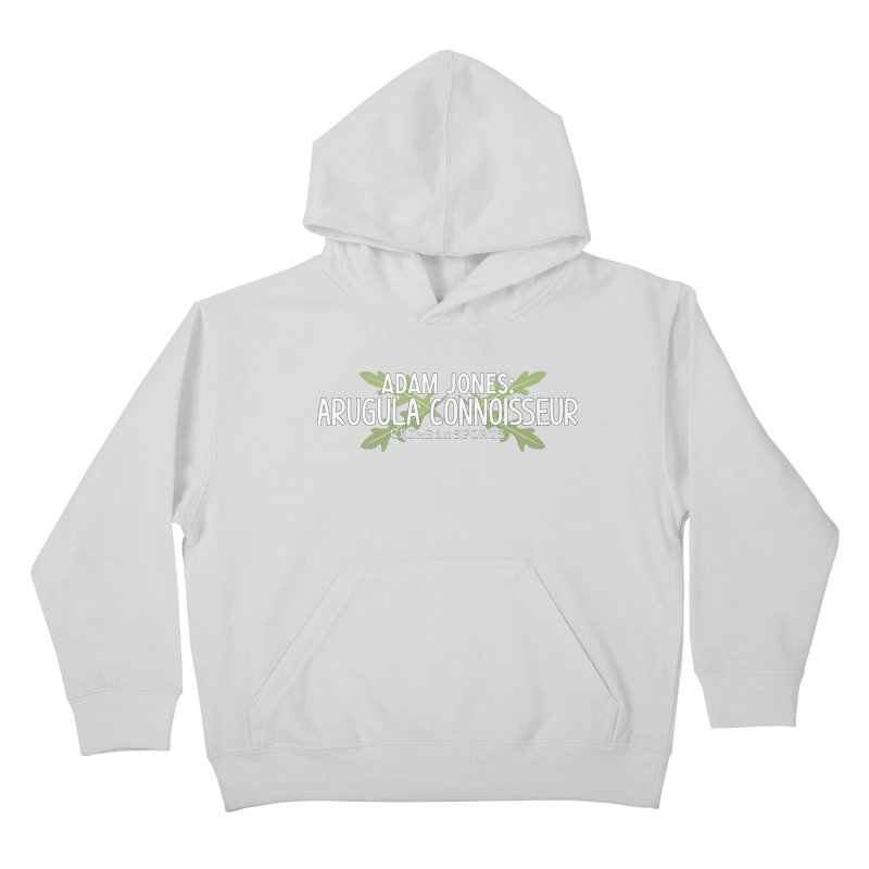 Arugula Connoisseur Kids Pullover Hoody by True Crime Comedy Team Shop