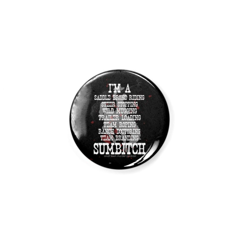 Winnemucca Ranch Hand Rodeo Accessories Button by True Crime Comedy Team Shop