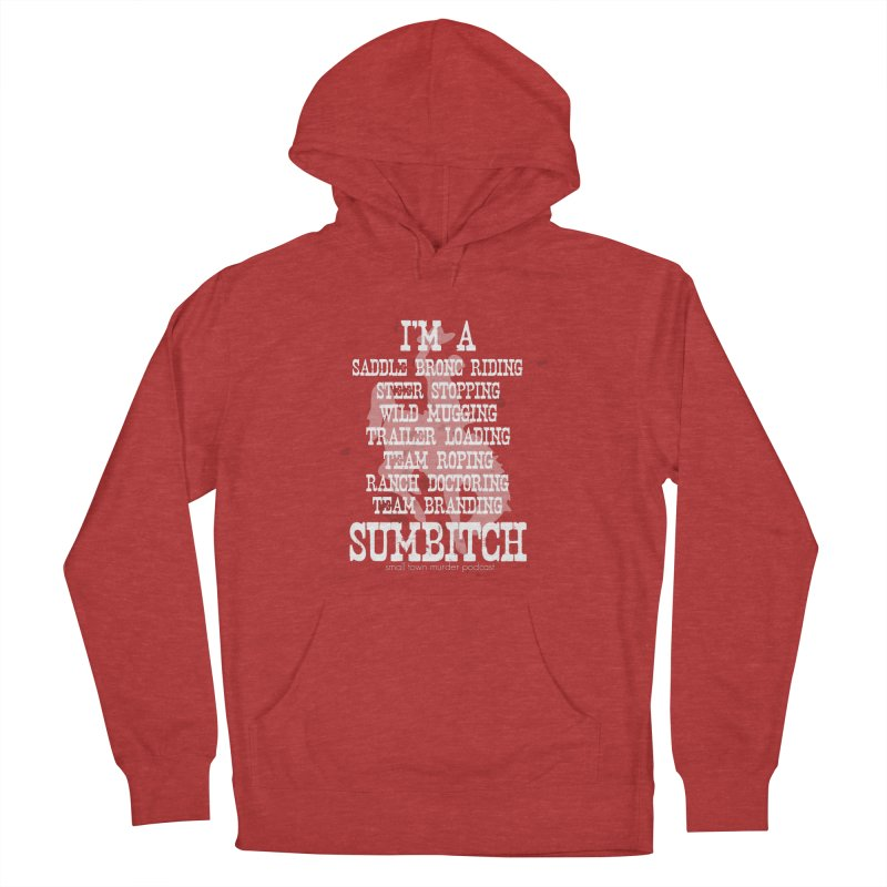 Winnemucca Ranch Hand Rodeo Women's French Terry Pullover Hoody by True Crime Comedy Team Shop