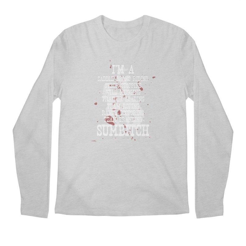Winnemucca Ranch Hand Rodeo Men's Regular Longsleeve T-Shirt by True Crime Comedy Team Shop