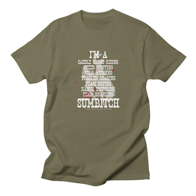 Winnemucca Ranch Hand Rodeo Men's Regular T-Shirt by True Crime Comedy Team Shop