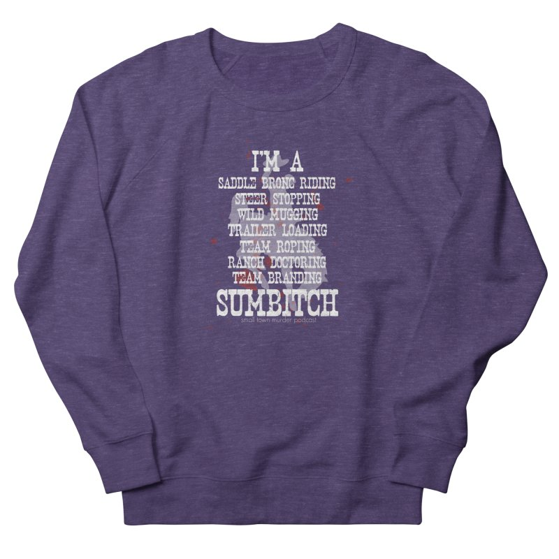 Winnemucca Ranch Hand Rodeo Women's French Terry Sweatshirt by True Crime Comedy Team Shop