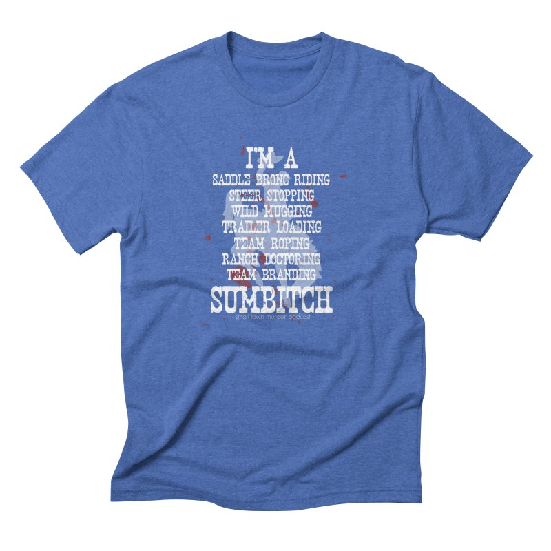 Winnemucca Ranch Hand Rodeo Men's Triblend T-Shirt by True Crime Comedy Team Shop