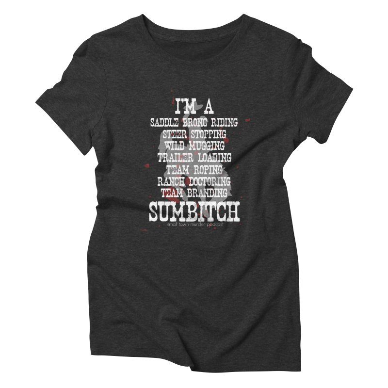 Winnemucca Ranch Hand Rodeo Women's Triblend T-Shirt by True Crime Comedy Team Shop