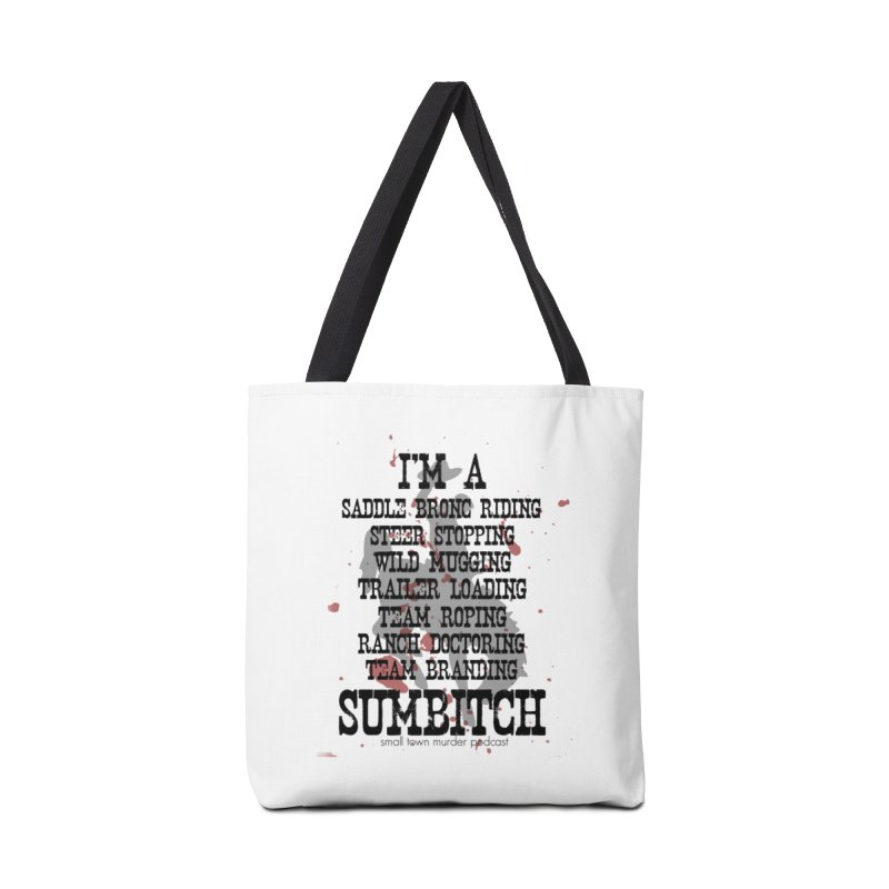 Winnemucca Ranch Hand Rodeo Accessories Tote Bag Bag by True Crime Comedy Team Shop