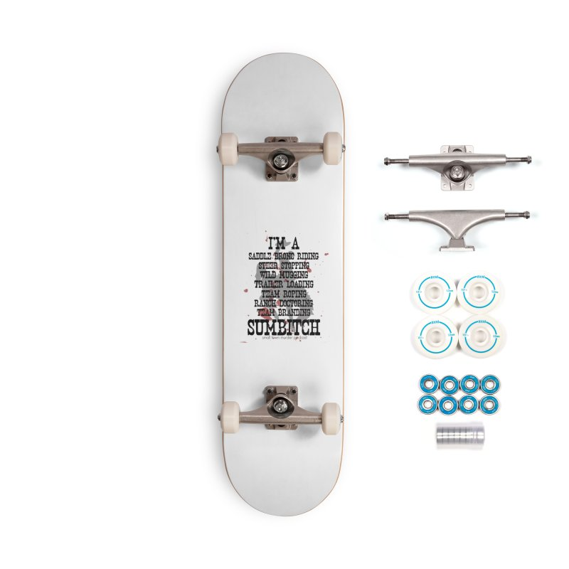 Winnemucca Ranch Hand Rodeo Accessories Complete - Basic Skateboard by True Crime Comedy Team Shop