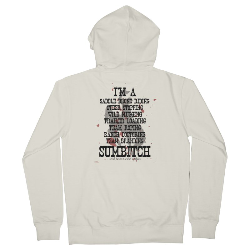 Winnemucca Ranch Hand Rodeo Women's French Terry Zip-Up Hoody by True Crime Comedy Team Shop