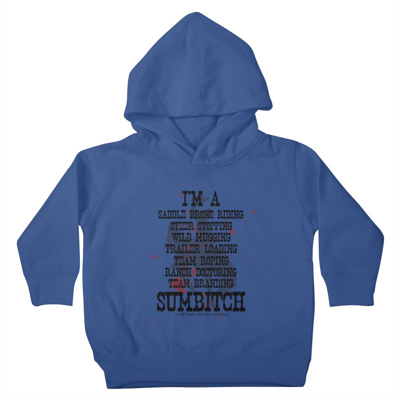 Winnemucca Ranch Hand Rodeo Kids Toddler Pullover Hoody by True Crime Comedy Team Shop