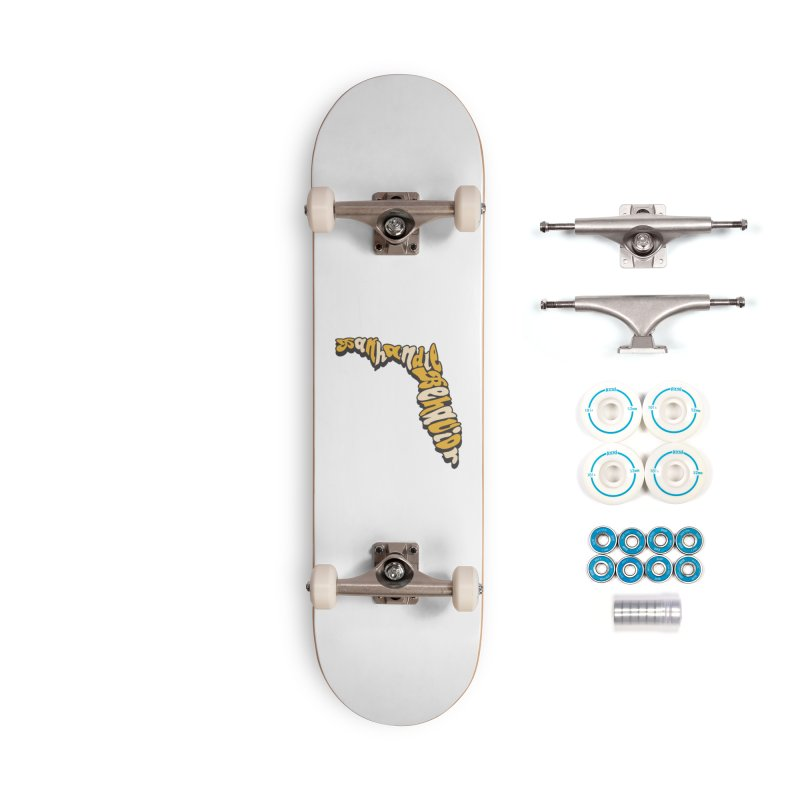 Panhandle Behavior Accessories Complete - Basic Skateboard by True Crime Comedy Team Shop