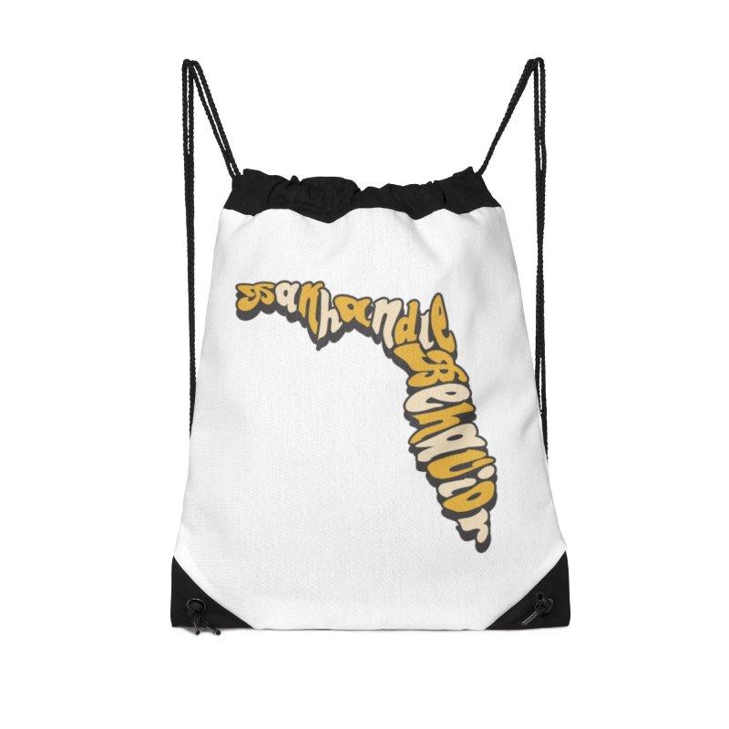 Panhandle Behavior Accessories Drawstring Bag Bag by True Crime Comedy Team Shop