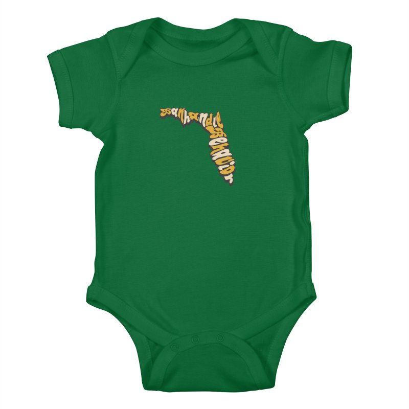Panhandle Behavior Kids Baby Bodysuit by True Crime Comedy Team Shop