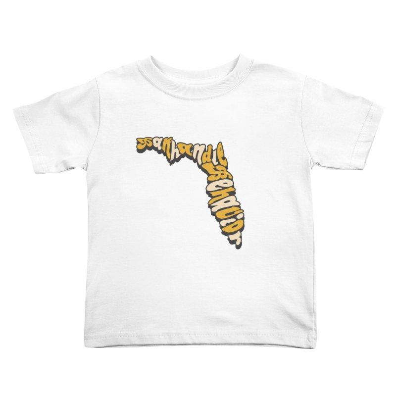 Panhandle Behavior Kids Toddler T-Shirt by True Crime Comedy Team Shop