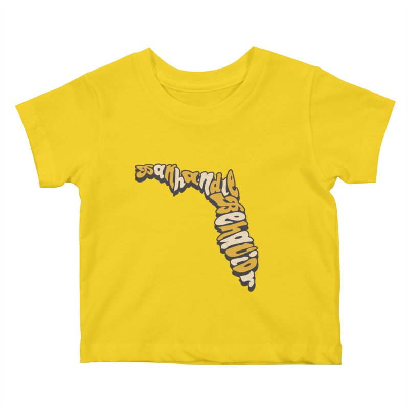 Panhandle Behavior Kids Baby T-Shirt by True Crime Comedy Team Shop