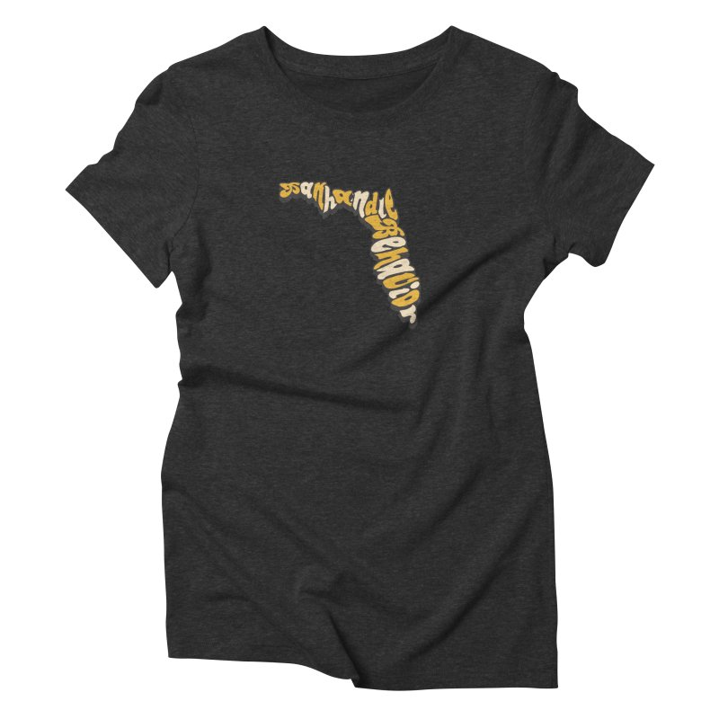 Panhandle Behavior Women's Triblend T-Shirt by True Crime Comedy Team Shop