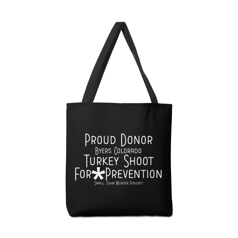 Proud Donor * Prevention Accessories Tote Bag Bag by Shut Up and Give Me Murder!