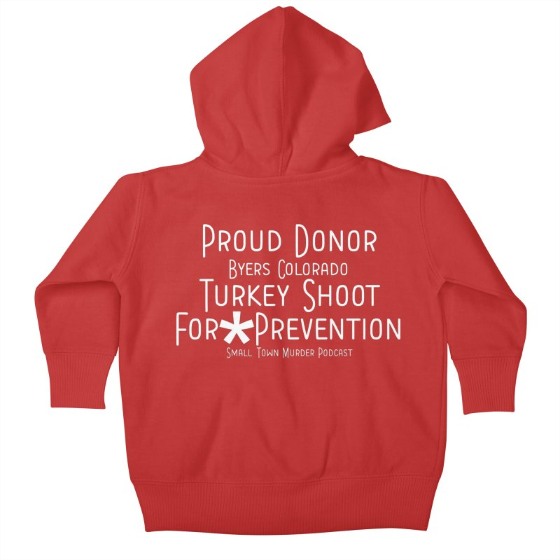 Proud Donor * Prevention Kids Baby Zip-Up Hoody by True Crime Comedy Team Shop
