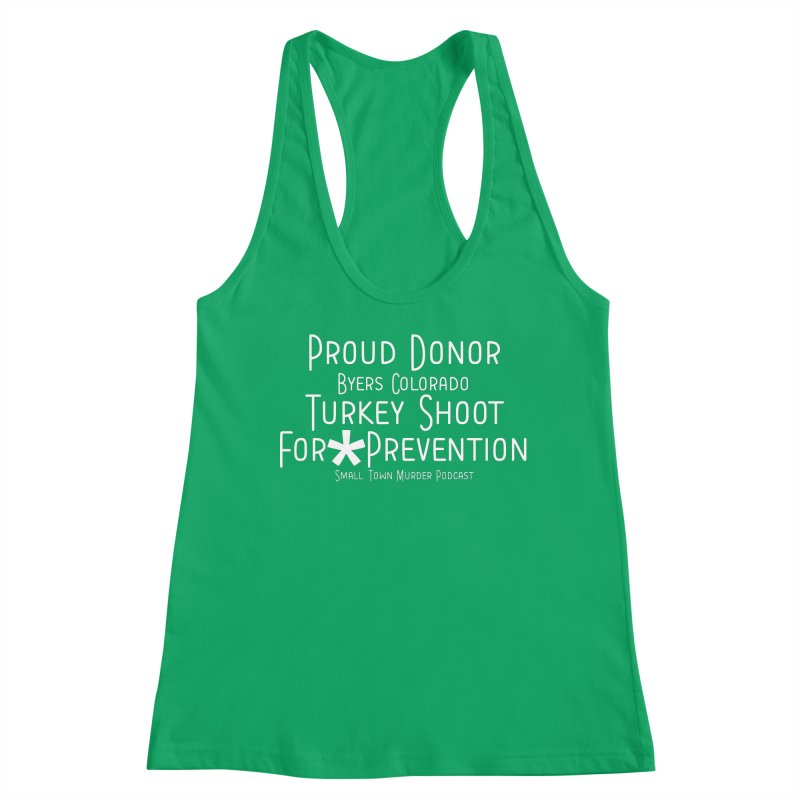 Proud Donor * Prevention Women's Tank by Shut Up and Give Me Murder!