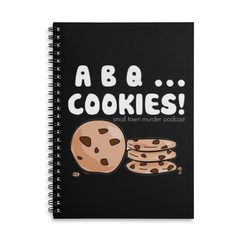 ABQ Cookies! Accessories Lined Spiral Notebook by True Crime Comedy Team Shop