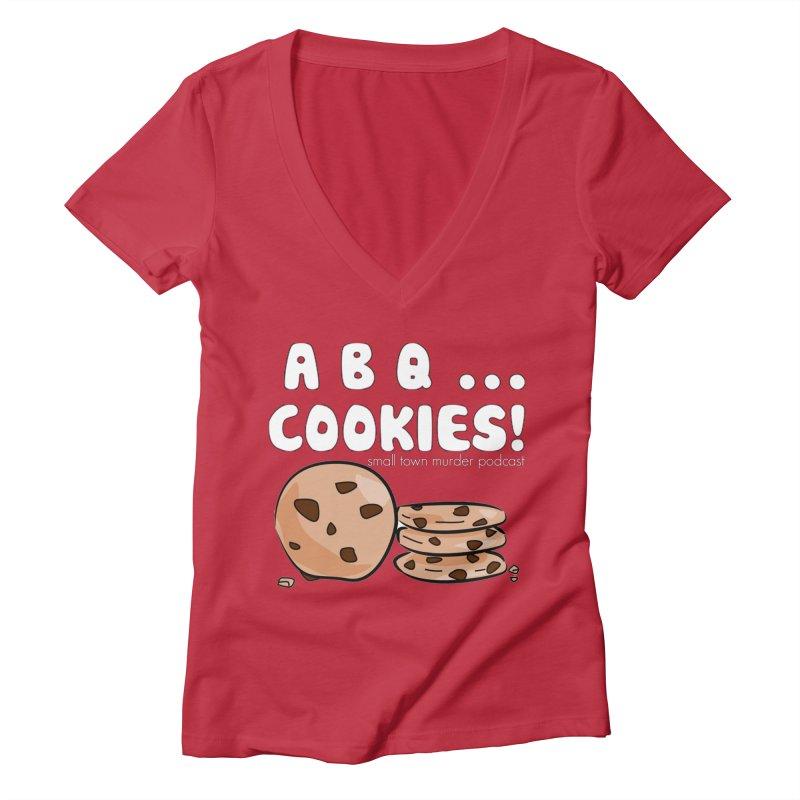 ABQ Cookies! Women's Deep V-Neck V-Neck by True Crime Comedy Team Shop
