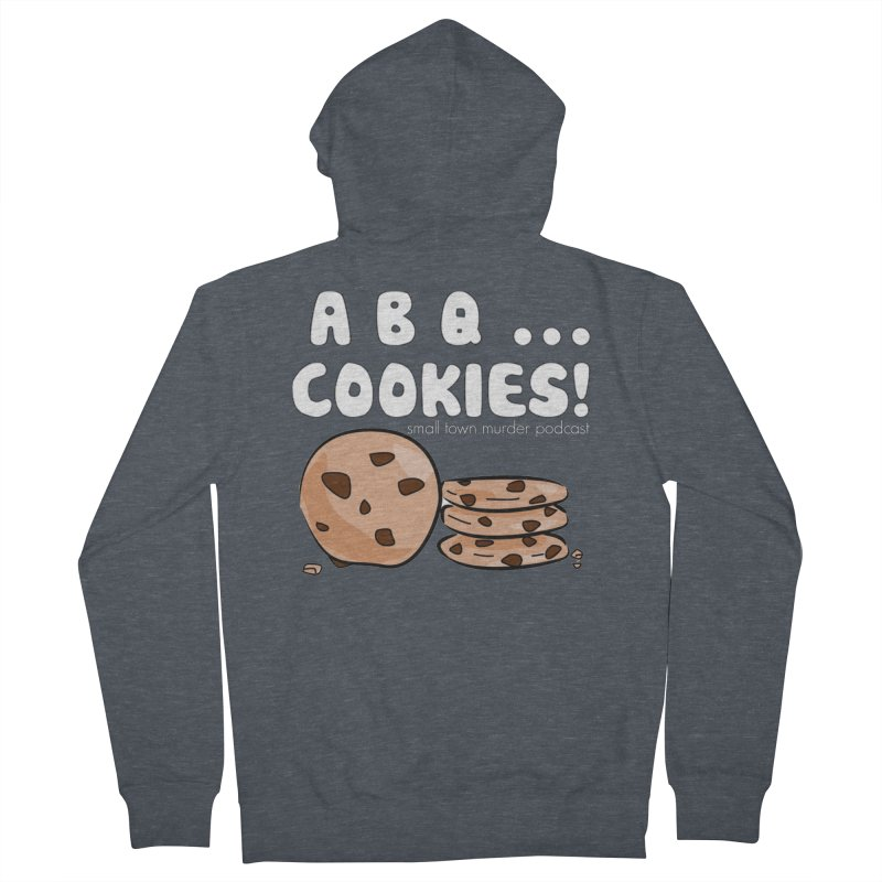 ABQ Cookies! Women's French Terry Zip-Up Hoody by True Crime Comedy Team Shop