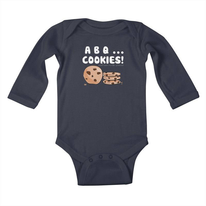 ABQ Cookies! Kids Baby Longsleeve Bodysuit by Shut Up and Give Me Murder!