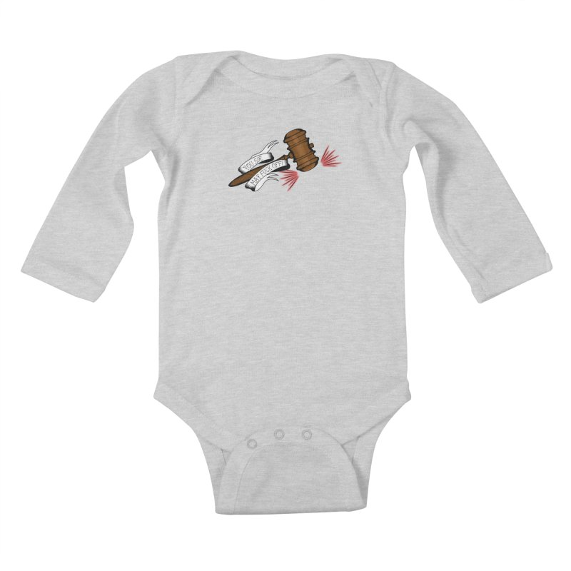 You, Sir, May Fuck Off!! Kids Baby Longsleeve Bodysuit by Shut Up and Give Me Murder!
