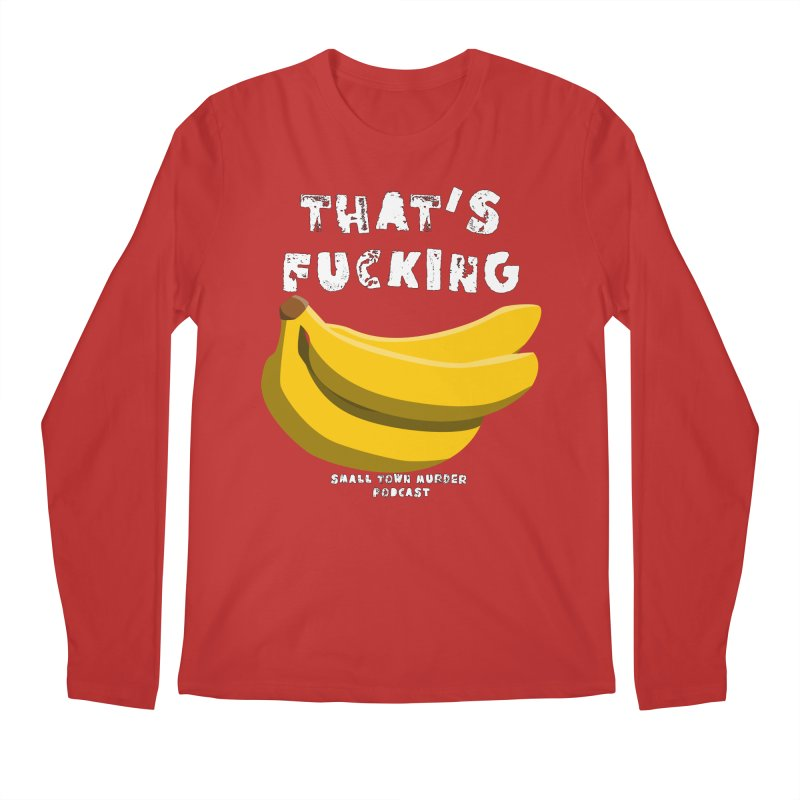 thats bananas Men's Regular Longsleeve T-Shirt by Shut Up and Give Me Murder!