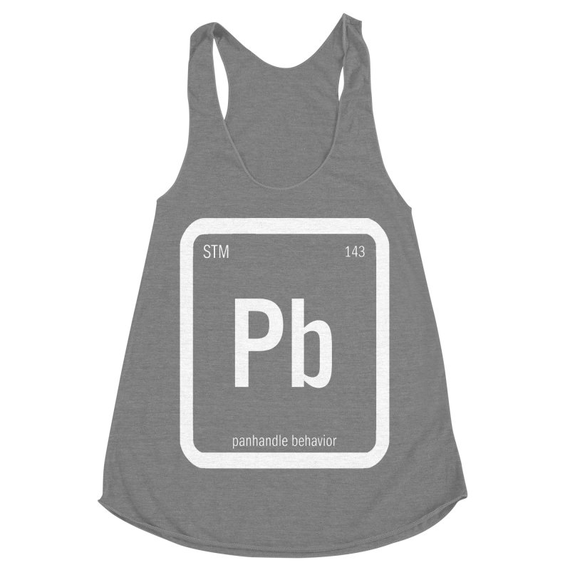 Element of a Good Story Women's Racerback Triblend Tank by Shut Up and Give Me Murder!