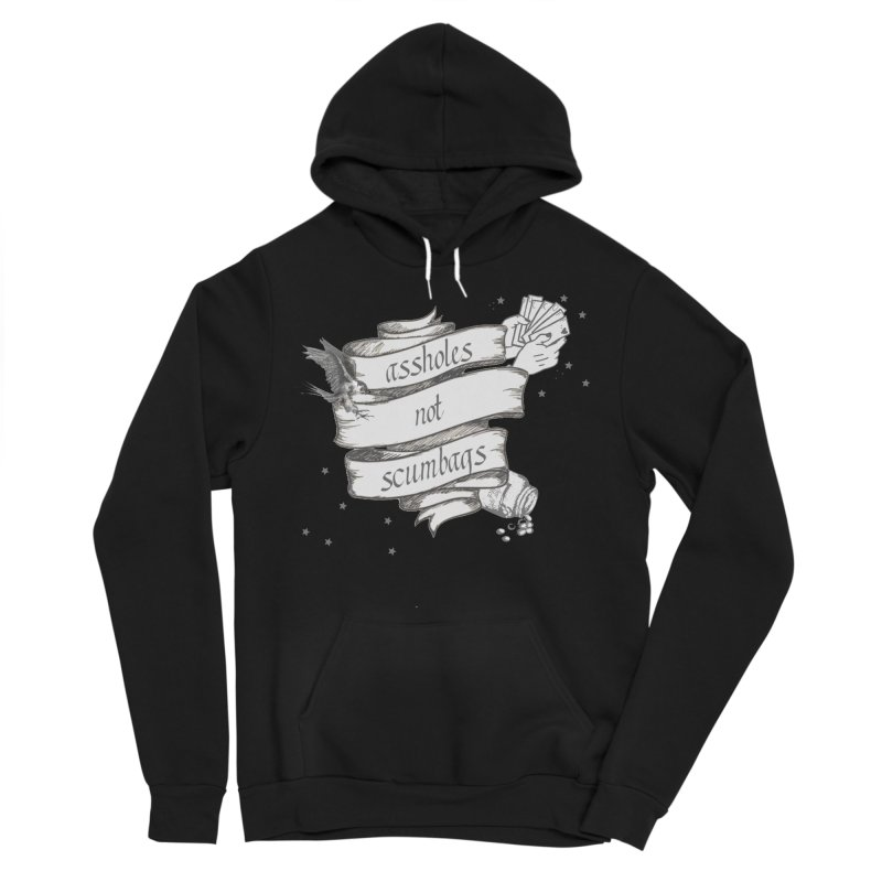Assholes, Not Scumbags Men's Sponge Fleece Pullover Hoody by Shut Up and Give Me Murder!