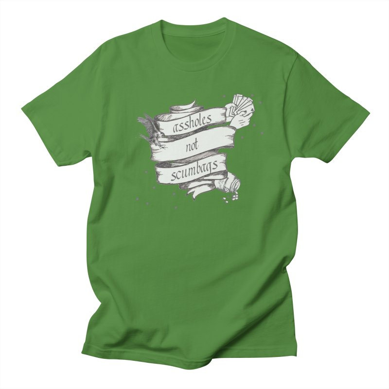 Assholes, Not Scumbags Women's Regular Unisex T-Shirt by Shut Up and Give Me Murder!