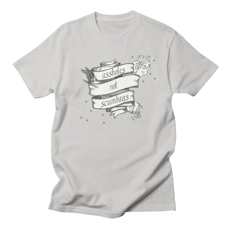 Assholes, Not Scumbags Men's Regular T-Shirt by Shut Up and Give Me Murder!