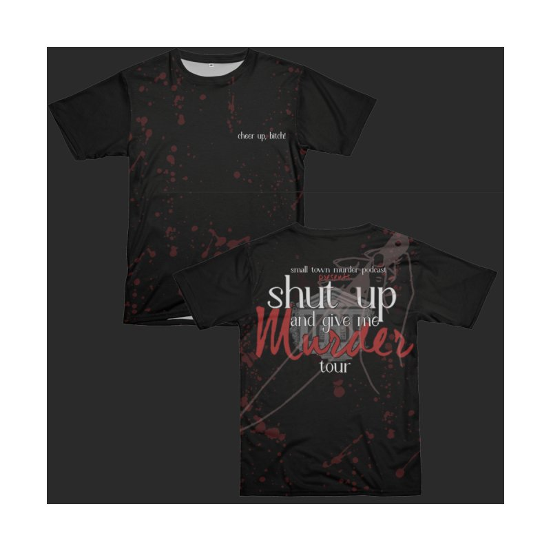 Shut up and Give Me Murder TOUR Shirt by Shut Up and Give Me Murder!