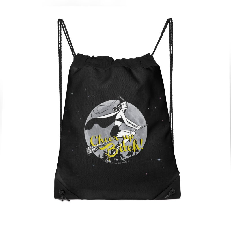 Cheer up, Witch! Accessories Bag by Shut Up and Give Me Murder!