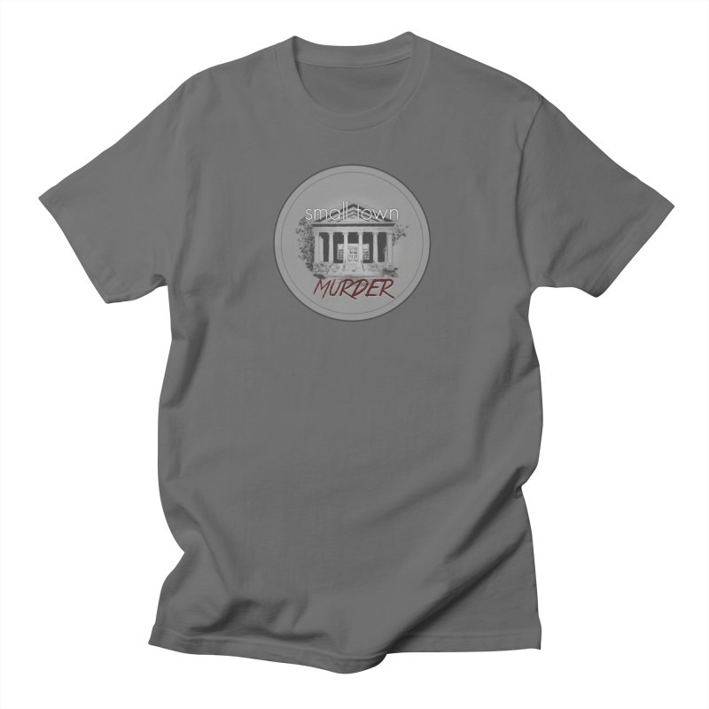 Small Town Murder Logo Men's T-Shirt by True Crime Comedy Team Shop