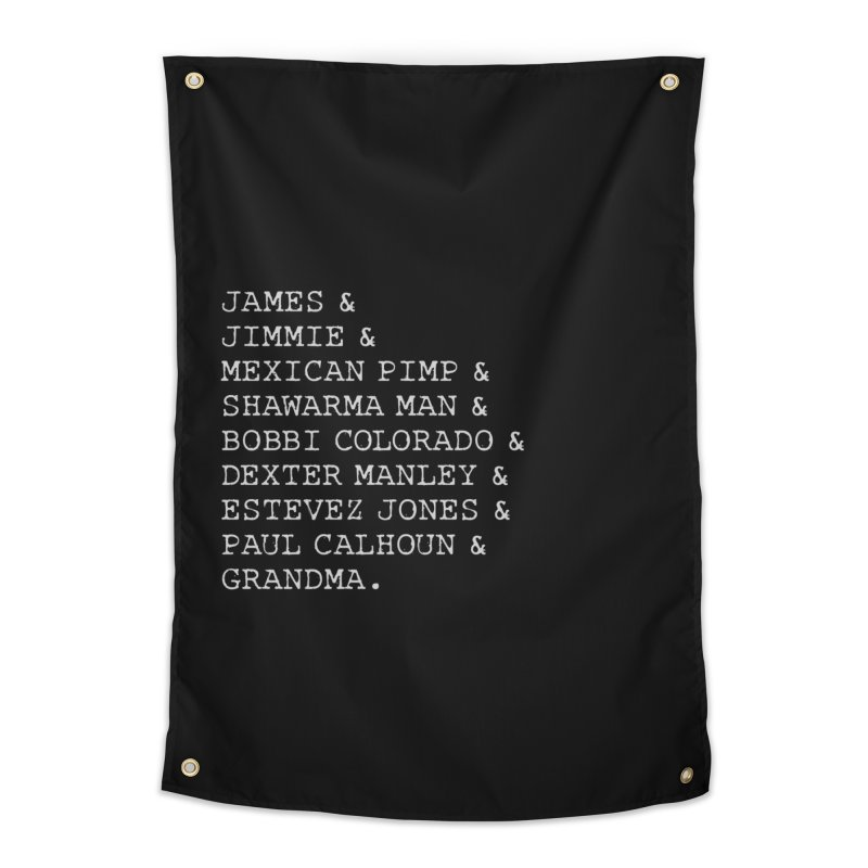 The Gang Home Tapestry by True Crime Comedy Team Shop