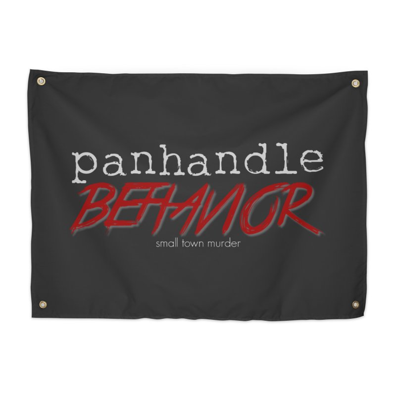 Panhandle Behavior Home Tapestry by True Crime Comedy Team Shop