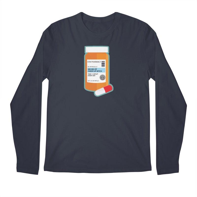 Cheer Up, Bitch! Men's Regular Longsleeve T-Shirt by True Crime Comedy Team Shop