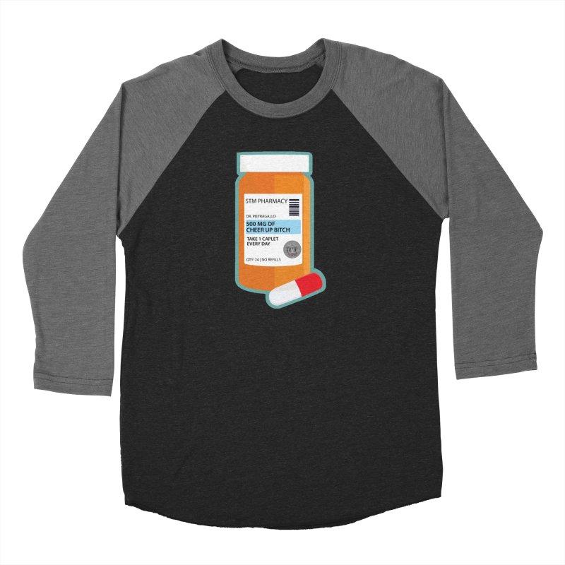 Cheer Up, Bitch! Women's Baseball Triblend Longsleeve T-Shirt by True Crime Comedy Team Shop