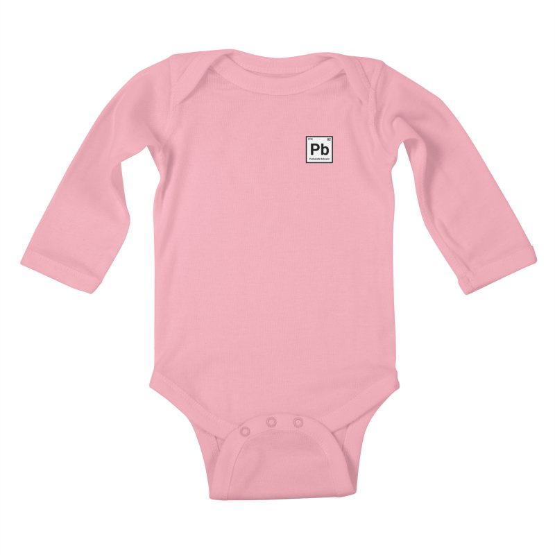 Element of a Good Story Kids Baby Longsleeve Bodysuit by True Crime Comedy Team Shop