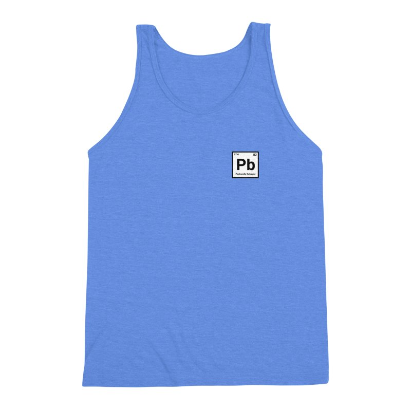 Element of a Good Story Men's Triblend Tank by True Crime Comedy Team Shop