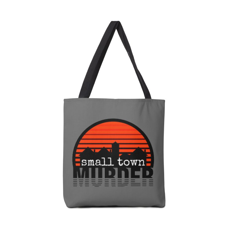 Small Town Murder Accessories Tote Bag Bag by True Crime Comedy Team Shop