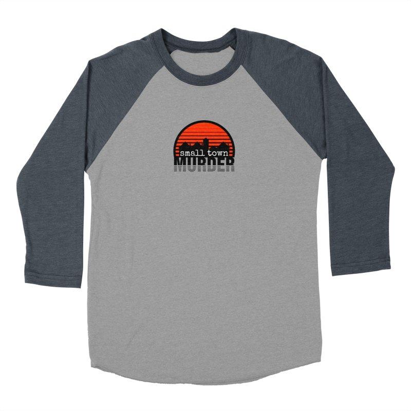 Small Town Murder Men's Baseball Triblend Longsleeve T-Shirt by True Crime Comedy Team Shop