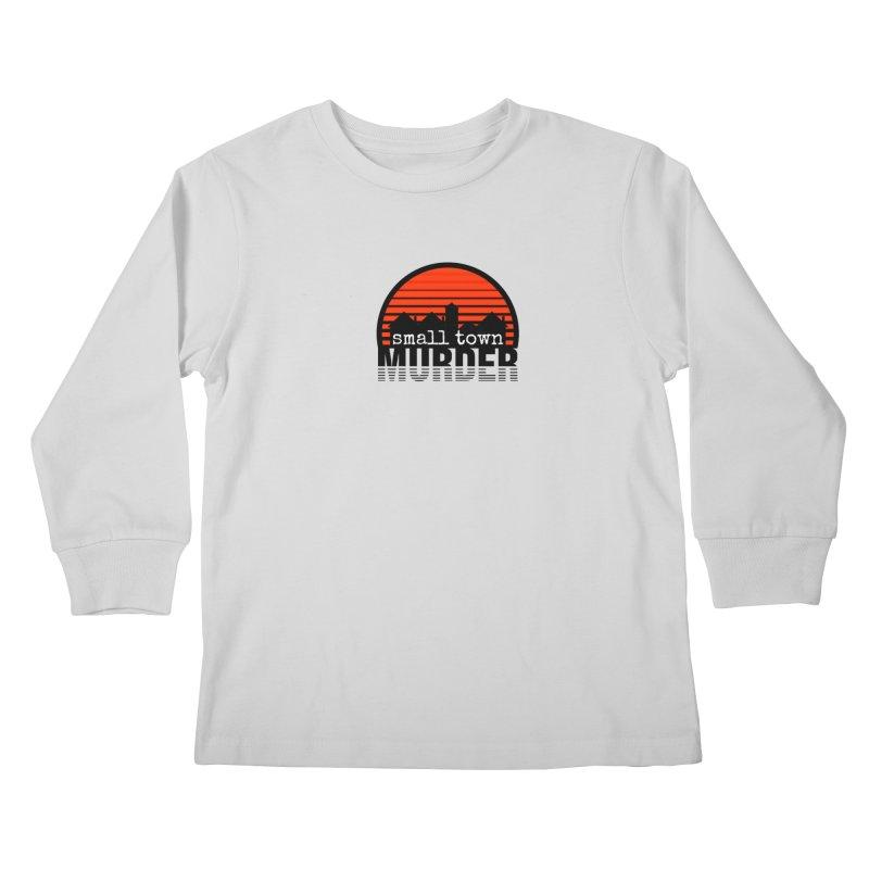 Small Town Murder Kids Longsleeve T-Shirt by True Crime Comedy Team Shop