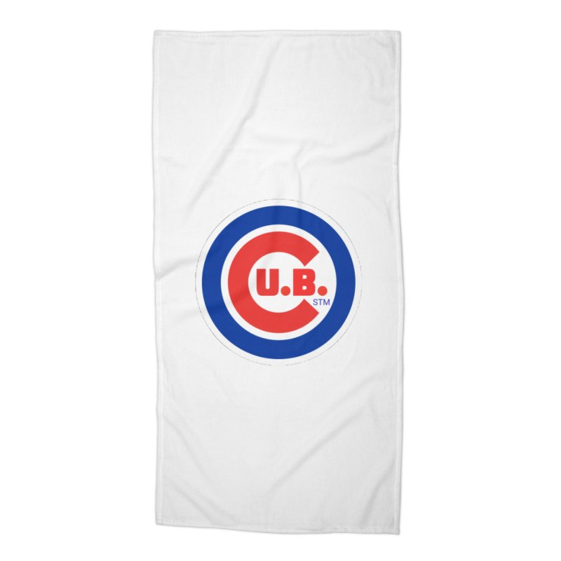C.U.B.! Accessories Beach Towel by True Crime Comedy Team Shop