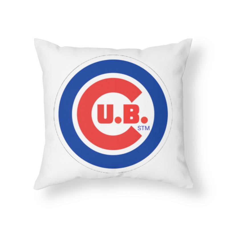 C.U.B.! Home Throw Pillow by True Crime Comedy Team Shop