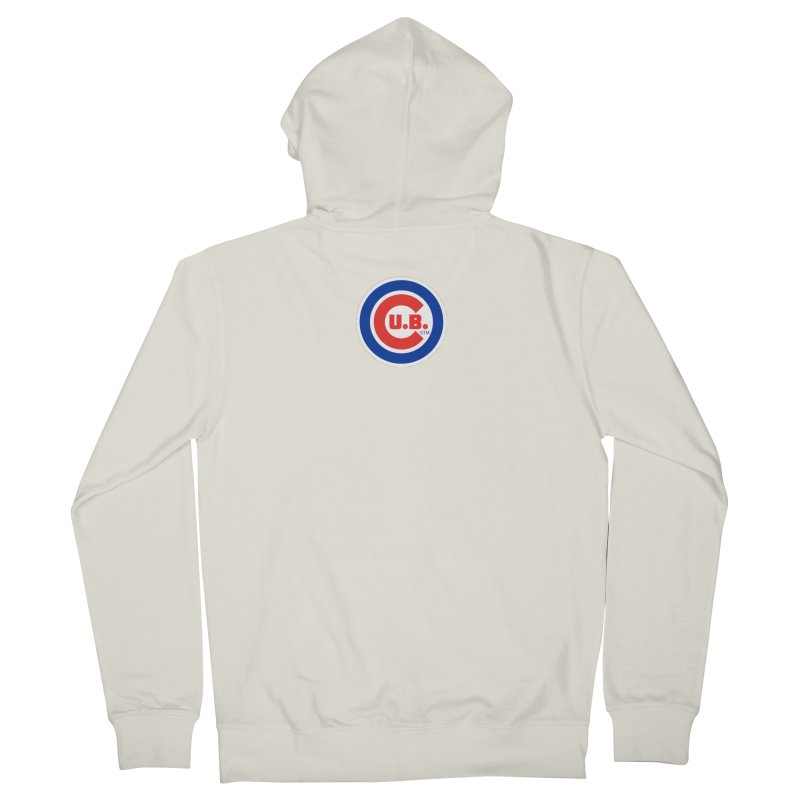 C.U.B.! Men's French Terry Zip-Up Hoody by True Crime Comedy Team Shop