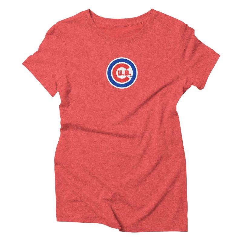 C.U.B.! Women's Triblend T-Shirt by True Crime Comedy Team Shop